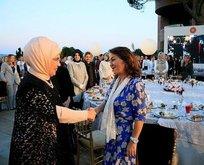 Emine Erdoğan akademisyen, sanatçı ve işkadınlarına iftar daveti verdi