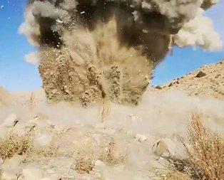 PKK'ya 'Kıran' darbesi! Patlama anı kamerada
