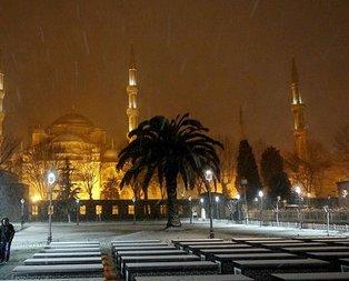 İstanbul'da kar yağışı etkili oluyor! Kar yağışı ne kadar sürecek?