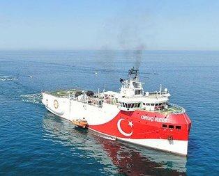 Oruç Reis Gemisi de Akdeniz'de aramalara başlıyor