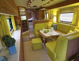 Dünyanın en lüks karavanı