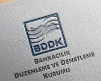 BDDK'dan o işlemlere sınırlama