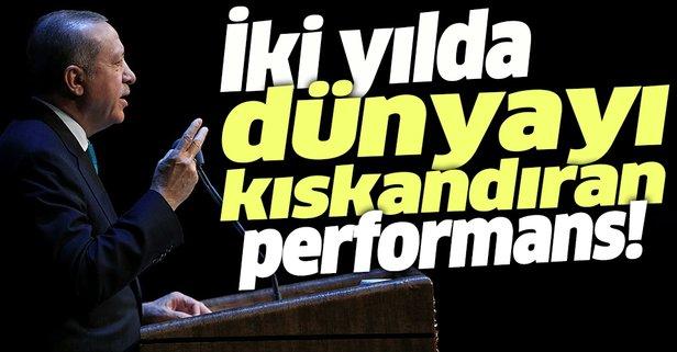 Türkiye'den iki yılda dünyayı kıskandıran performans