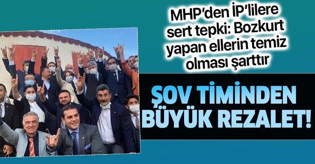 MHP'den İyi Parti'ye bozkurt işareti tepkisi