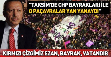 Başkan Erdoğan'dan Taksim'de ezanın ıslıklanması rezaletine ilişkin çok sert tepki