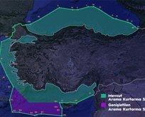 Dışişleri Bakanlığı'ndan Yunanistan'a haritalı cevap!