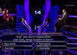 Kim Milyoner Olmak İster yarışmasında Kenan İmirzalıoğlu'na sürpriz Ezel sorusu: Ezel, hangi soyadını kullanır?