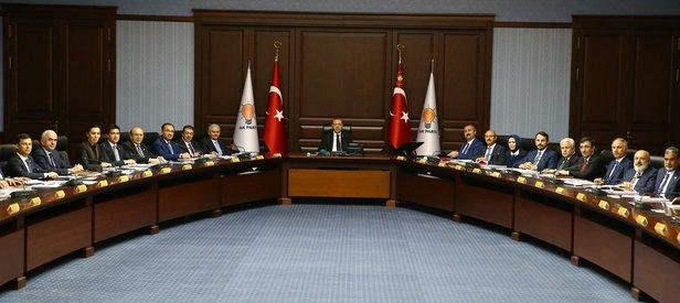 Erdoğan başkanlığındaki ilk AK Parti MYK toplantısının tarihi belli oldu