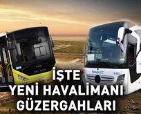 Yeni İstanbul Havalimanı seferleri başladı