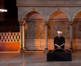 İstanbul'un Fethi'nin 567. yıl dönümünde Ayasofya'da Fetih Suresi okunuyor!
