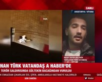 Hayat kurtaran Türk vatandaşı A Haber'e konuştu
