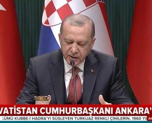 Başkan Erdoğan: Trump'ın aldığı kararı etkileme anlamı olabilir