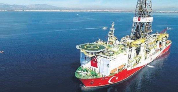 Kanuni gemisi Karadeniz'de