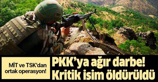 MİT ve TSK'dan ortak operasyon! PKK'ya ağır darbe