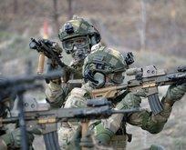 Fırat Kalkanı bölgesinde 3 terörist ex
