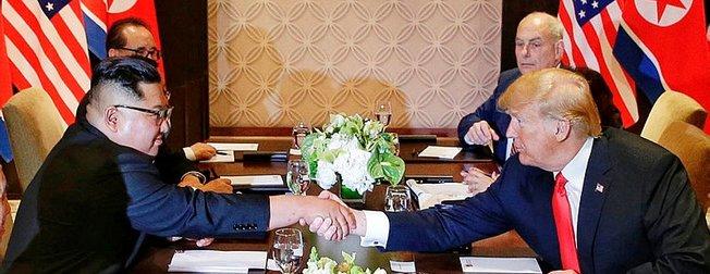 Trump ve Kim Jong Un buluşmasında dikkat çeken menü