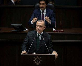 Başkan Erdoğandan AK Parti Grup Toplantısında anlamlı şiir