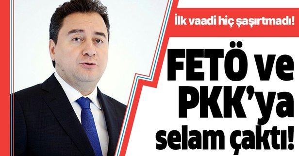 İlk sözü FETÖ'cüleri ve PKK'lıları affetmek oldu!