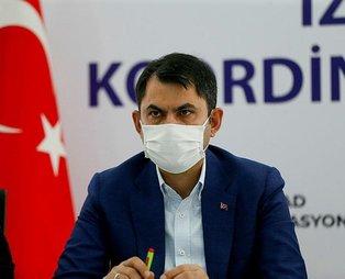 Son dakika: Çevre ve Şehircilik Bakanı Murat Kurum'dan İzmir'de afet bölgesinden önemli açıklamalar