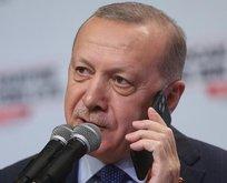 Başkan Erdoğan'dan Milli Takıma tebrik telefonu