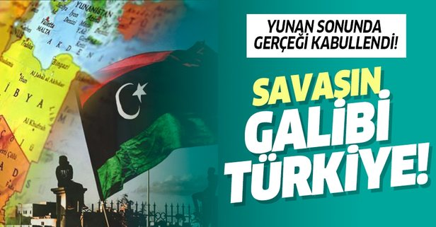 Yunan sonunda gerçeği kabullendi! Savaşın galibi Türkiye