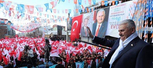 Başbakan Yıldırım'dan Avrupa'ya rest