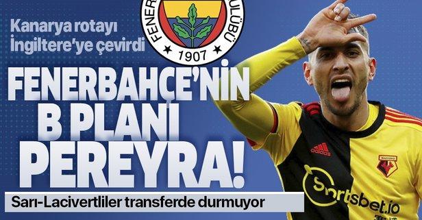 Fenerbahçe'nin B planı Pereyra!