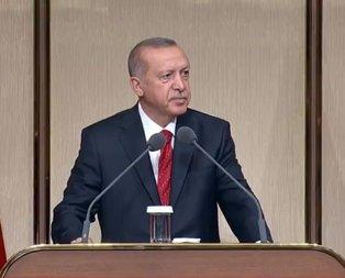 Erdoğan: Neyi başardıysak yıkım ekibine rağmen başardık