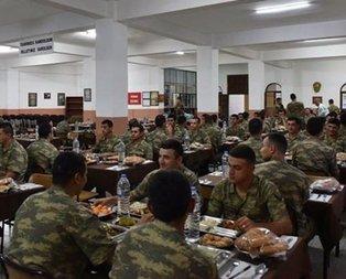 Jandarmanın yemek duasında değişiklik