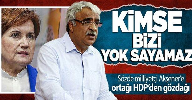 HDP'li Sancar'dan 'ayrı aday' isteyen Akşener'e gözdağı