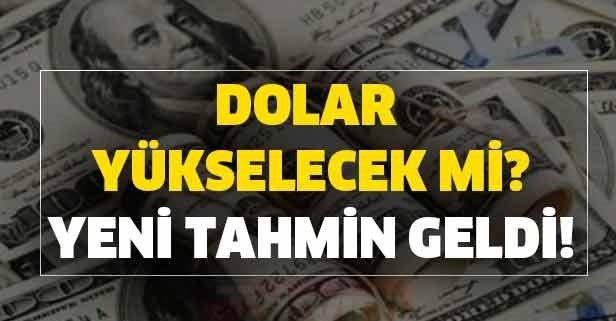 Dolar yükselecek mi? İşte Merkez Bankası'nın yeni dolar tahmini
