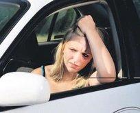 Sıkışık trafik kalbi vuruyor