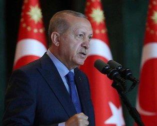 Desticiden Başkan Erdoğana tebrik