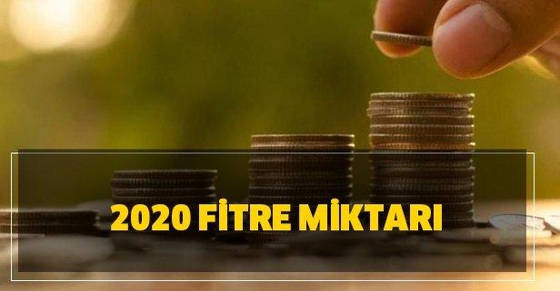 Oruç tutamayan ne kadar para verecek? 2020 fitre miktarı