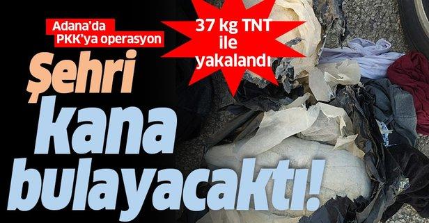Adana'da eylem hazırlığındaki terörist yakalandı
