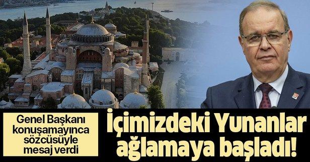 CHP Ayasofya kararından rahatsız