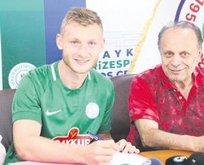 Çaykur Rizespor'da Jakub Brabec imzaladı