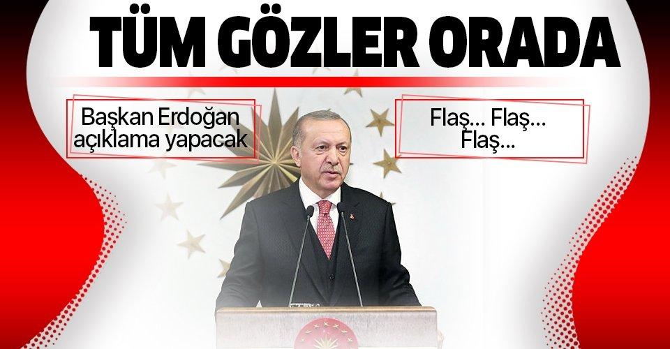 Son dakika: Başkan Erdoğan'dan belediye başkanları ile kritik toplantı