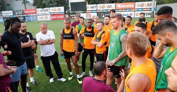 Bafetimbi Gomis, Galatasaray'la vedalaştı