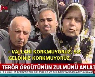 Afrin halkı PYD/PKK zulmünü anlattı!