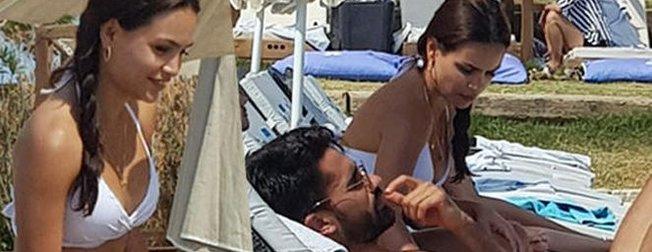 Tuvana Türkayı unutan Alper Potuk Sebahat Kumaşla yakalandı