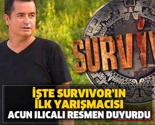Acun Ilıcalı Survivor'a gidecek ilk ismi duyurdu