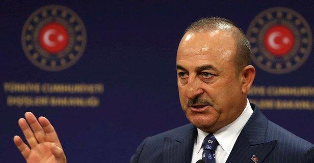 Çavuşoğlu'ndan Ermenistan'a çok sert tepki
