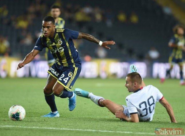 Fenerbahçe-Cagliari maçında dikkat çeken detay! Görenler dönüp bir daha baktı