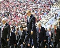 Erdoğan: Tehditler bizi hedeflerimizden alıkoyamayacak