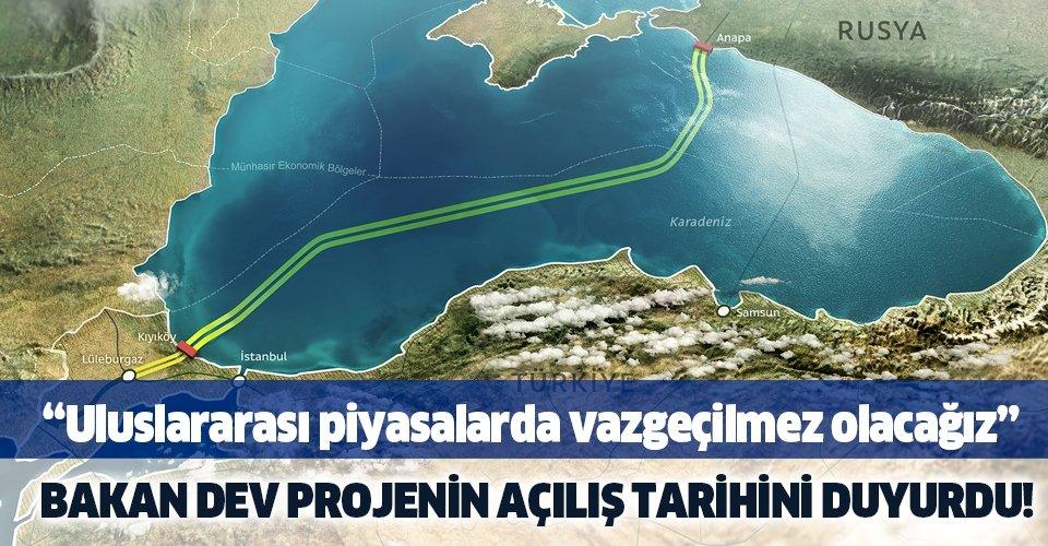 Son dakika: Bakan Dönmez'den TürkAkım ile ilgili önemli açıklama