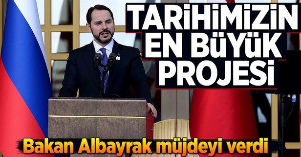 'Tarihimizin en büyük projesi'
