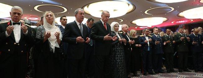 Külliye'deki 29 Ekim Kabul Töreninden dikkat çeken kareler
