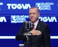 Başkan Erdoğan'a büyük ödül