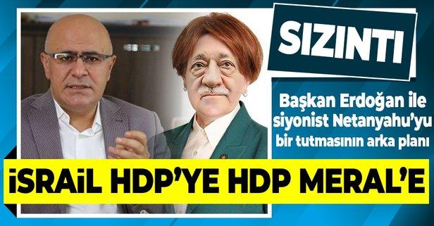 Akşener çirkin Netanyahu sloganını HDP'den çalmış